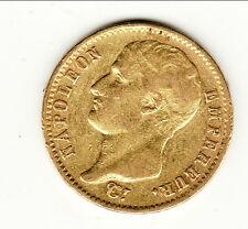 NAPOLEON EMPEREUR  rev REPUBLIQUE  20 FR OR /GOLD1807 A BUSTE NUE