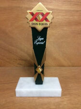 "Dos Equis Lager Especial Cerveza Beer Tap Handle XX ~ NEW & F/Ship.  6.75"" Short"
