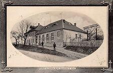 Drausendorf bei Zittau Gasthof zur Goldnen Krone Postkarte geprägt