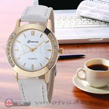 Hot Geneva Watch Women Ladies Watch Fashion Wrist Watch Quartz Analog Watches
