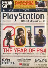 Play Station The Years Of PS4 Mass Effect 4 Tips January 2015 FREE SHIPPING!