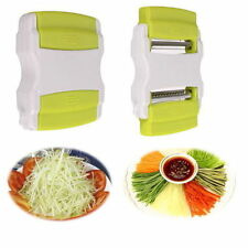 Vegetable Potato Carrot Cucumber Fruit Twister Cutter Slicer Peeler Home Kitchen