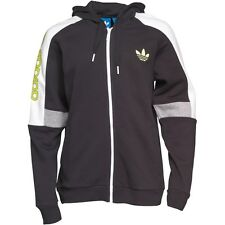 NEW $70 Adidas Originals Black/Electric Fleece Sweatshirt/Hoodie Men's XL