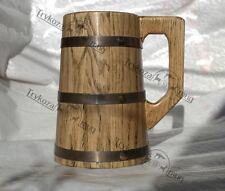 The hobbit mug Beer Mug Wooden Tankard Beer Stein men gift Wooden stein