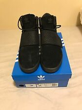 Adidas Tubular Invader Strap Shoes Triple Black Pirate BB1169