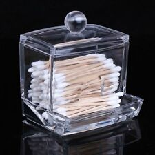 Beauty Acrylic Organizer Cotton Ball and Swab Holder 2130