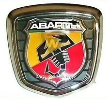 FIAT 500 ABARTH Portellone / Avvio BADGE Assembly 735496473 BRAND NEW ORIGINALE