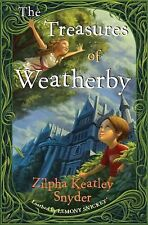 Zilpha Keatley Snyder~THE TREASURES OF WEATHERBY~SIGNED~1ST/DJ~NICE COPY