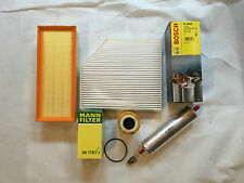 FILTER SET OIL FILTER AIR FILTER POLLEN FILTER FUEL FILTER AUDI A4 A5 A6