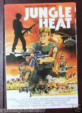 Jungle Heat {Sam Jones} Hong Kong Org. Kung Fu Film Program 80s