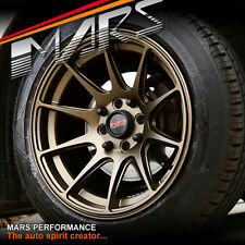 MARS MP-MS 15 inch 4 x 100 / 114.3 Wheels Swift Jazz E30 Civic Mini Yaris Tiida