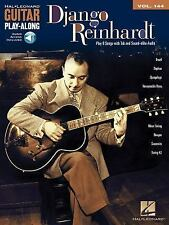 Django Reinhardt Guitar Play-Along Volume 144 Songbook Sheet Music Song Book CD