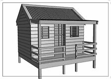 """CUBBY HOUSE - PLAY HOUSE - """"Great Aussie Outback Style"""" - Building Plans V4"""