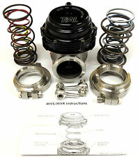 Tial MVR 44mm Wastegate With V- Band Flanges All Springs Pressure Included Black