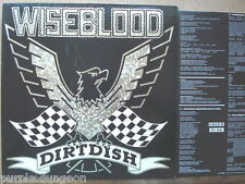 WISEBLOOD - DIRTDISH  LP  Recordvox WISE 003  Clint Ruin + Texte + lyrics sheet