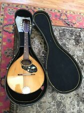 Vintage Estate Mandolin Handmade Pesaro, Italy 1976 Beautiful