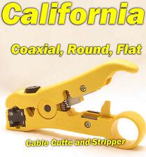Cable Cutter Network Tool Coax Stripper Coaxial RG6 RG59 RG7 RG11 UTP STP 8P8C