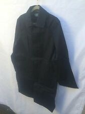 Polo Ralph Lauren Mens Trench Coat - Dark Blue Navy - Small