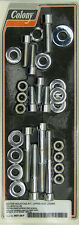 Harley 84-99 Softail Motor Mounting Kit Polished Allen Chrome Colony 9927-28-P