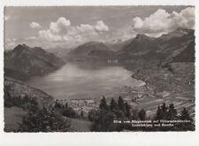 Blick Vom Buergenstock auf Vierwaldstaettersee RP Postcard Switzerland 646a