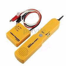 Telephone RJ11 Wire Tracker Ethernet LAN Network Line Cable Tester Probe Tracer