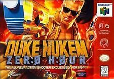 ***DUKE NUKEM ZERO HOUR N64 NINTENDO 64 GAME COSMETIC WEAR~~~