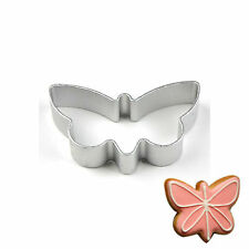 DIY Stainless Steel Butterfly Cookie Cutter Biscuit Pastry Fondant Cake Mold New