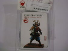 Kensei Kuge Clan Hero blister metal Zenit miniatures new