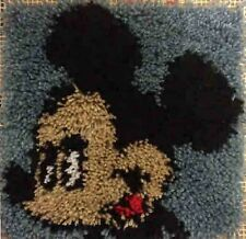 Mickey Mouse  12X12 Latch Hook Kit - Free S&H