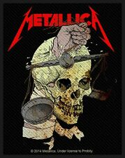 Metallica-Patch ricamate-Harvester of Sorrow 2014 8x10cm