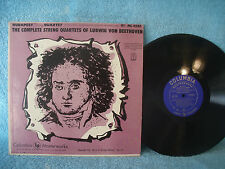 Budapest String Quartet Complete String Quartet of Ludwig Von Beethoven, ML 4585