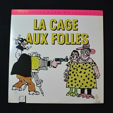 LA CAGE AUX FOLLES  - THE CRITERION COLLECTION  (1978)  LASERDISC