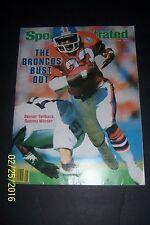 1984 Sports Illustrated DENVER Broncos SAMMY WINDER No Label BRONCOS BUST OUT