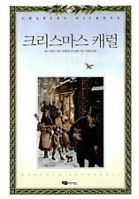 Korean Illustration Book A Christmas Carol by Charles Dickens Hard Covered