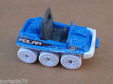 2012 Matchbox ATV 6X6 71/120 MBX Arctic LOOSE Sky Blue
