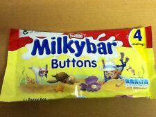Pack De 4 Bolsas De Nestle Milkybar Botones-British Chocolate Blanco