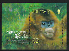 Guernsey 2004 Endangered Species/Monkey ss--Attractive Animal Topical (816) MNH