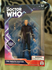 Doctor who  12th doctor peter capaldi  with black shirt 5.5 inch  figure  set