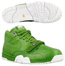 New Mens 10.5 NIKE Air Trainer 1 Mid SP/Fragment Wimbledon Shoes $150 806942-331