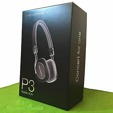 Bowers & Wilkins P3  On-Ear Headphones B&W Black Foldable Android iPhone in UK