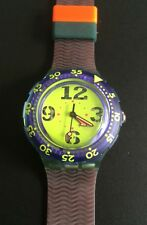 SWATCH Scuba SDN 103 Spray-Up 1992 Originals Tauchen diving blau Neu New TOP!