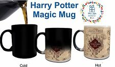 Magic mug Harry Potter Marauder's Map, Gifts Ideas, Birthday gifts, movies fans