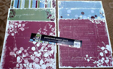 """12"""" Scrapbook Paper 6s Colorbok Patterned Pack Male Birthday Party Boy"""