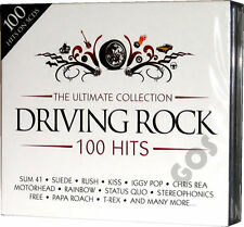 The Ultimate Driving Rock 5 CD Original Music Compilation of 60s 70s 80s 90s 00s