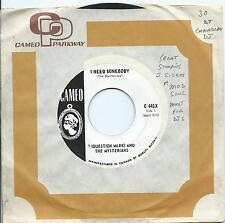 """? (Question Mark) and the Mysterians:I need somebody/""""8"""" teen:Canada Cameo.Soul"""