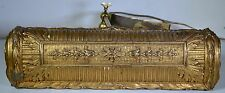 INCREDIBLE ANTIQUE GILT PAINTING FRAME light gesso gold