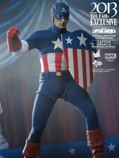 Hottoys Toy Fair EX 1/6 Captain America First Avenger Star Spangled G-20057 New