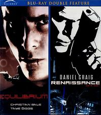 BRAND NEW BLU-RAY DOUBLE FEATURE  //  EQUILIBRIUM & RENISSANCE // CHRISTIAN BALE