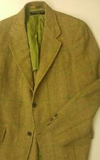 Vintage 1960s 1970s Brooks Brothers Tweed Blazer Size 38 Long 3 Roll 2 Union
