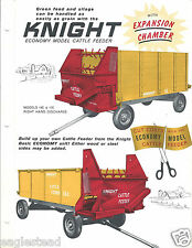 Farm Equipment Brochure -  Knight - 14E / 17E - Cattle Feeder Wagon (F4411)